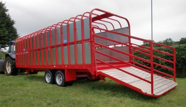 Tractor Trailer Stock : Livestock trailers whites of bocombra